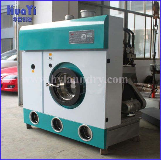 China Industrial Laundry Dry Cleaning Machine Price Solvent