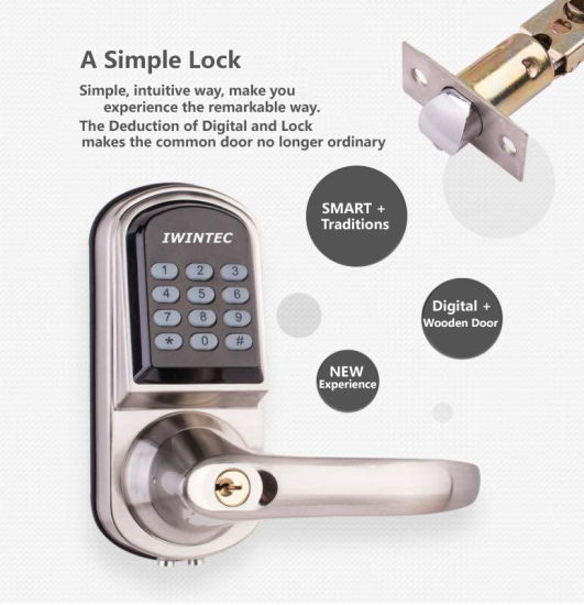 Electronic Campus Lock (V6280MF) pictures & photos