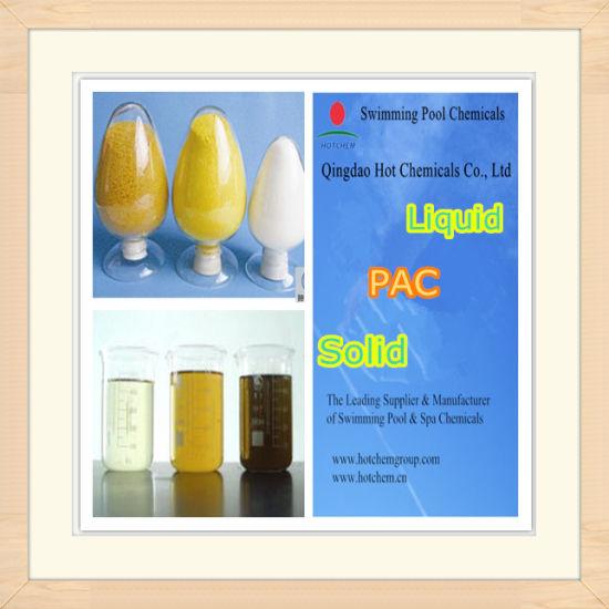Industrial Grade Liquid PAC Food Solid Poly Aluminium Chloride CAS 1327-41-9