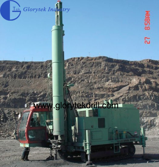 30m Blasthole DTH Drilling Rig with Air Compressor pictures & photos