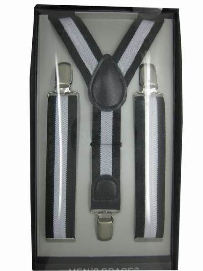 Classic Men's Elastic Polyester Suspender-02