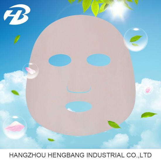 Dry Nonwoven Sakura Facial Sheet Mask for Cosmetics