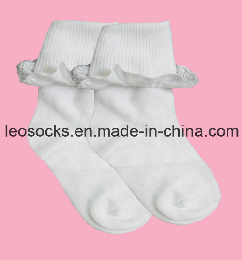 Wholesale High Quality Orgnic Cotton Newborn Baby Socks pictures & photos