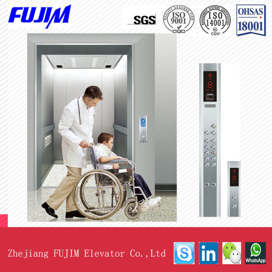 Safe and Stable Stretcher Hospital Elevator for Patient Bed pictures & photos