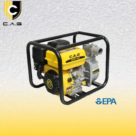 EPA Approval 2inch 5.5HP Petrol /Gasoline Water Pump (TP20CX) pictures & photos