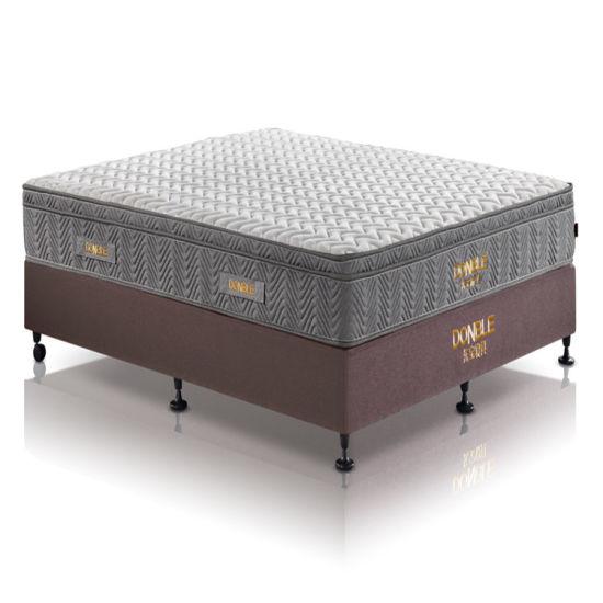 Foshan Vacuum Packed Pocket Spring Bed Memory Foam Mattress