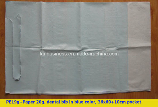 Disposable Dental Bibs/Arpons with Pocket (LY-DB-10)