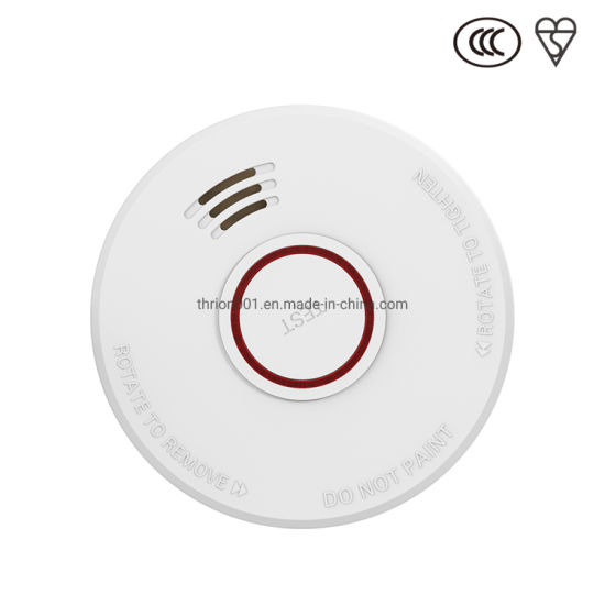 China Special Type Of Smoke Alarm Smoke Detector 9v Replaceable