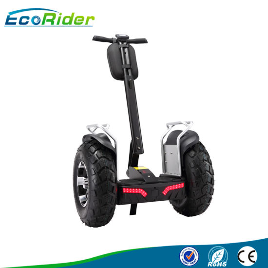 off Road Kick Scooter Double Battery 1266wh 72V Two Wheel Electric Scooter