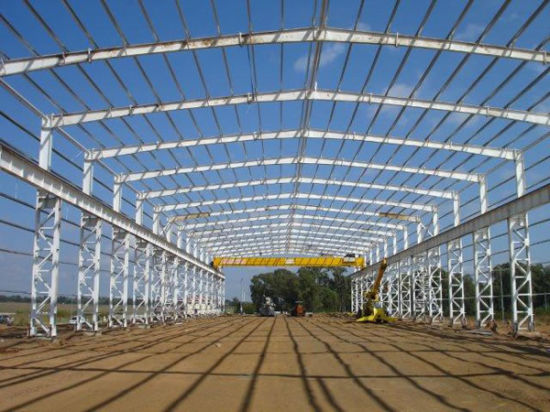 Steel Structure/Building/Frame/Garage with Hot-DIP Galvanized Coating
