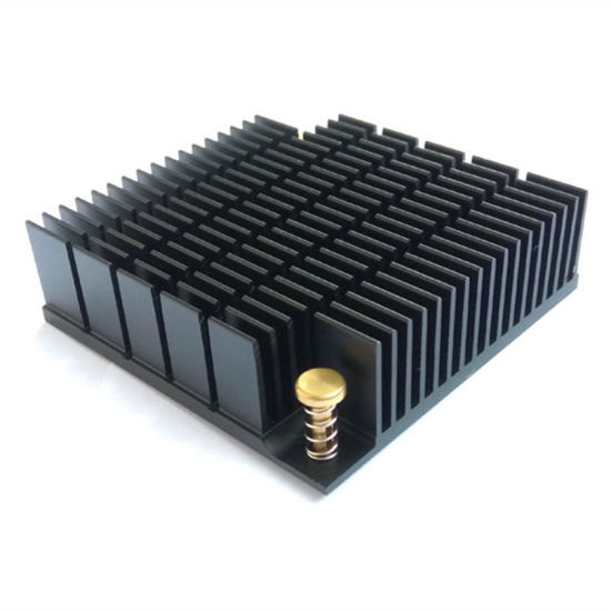 Aluminum Skive Fin Heat Sink for Electronic Devices