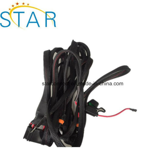 China Universal Relay Wiring Harness with Three Connectors - China on