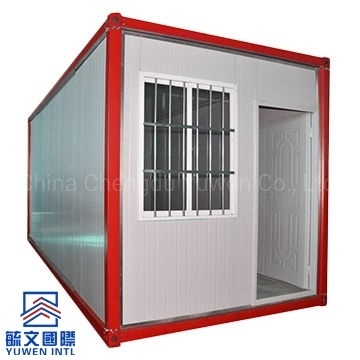 Modular Prefab Sandwich Panel Container House with Security Bar