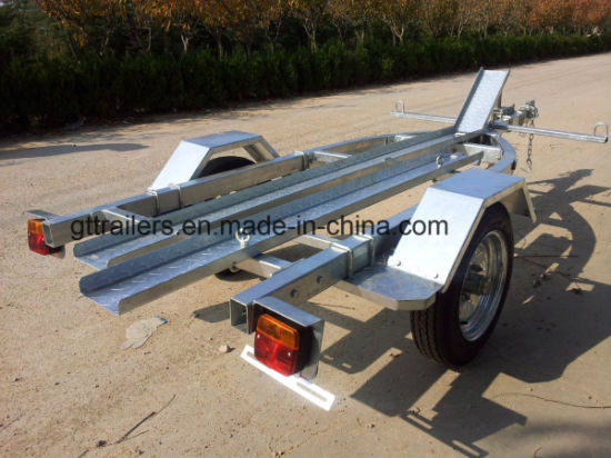 China Single Motorcycle Trailer For Sale Tr0600 China Motorcycle