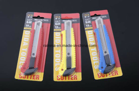 18mm Stationery Knife for School& Office Supply pictures & photos