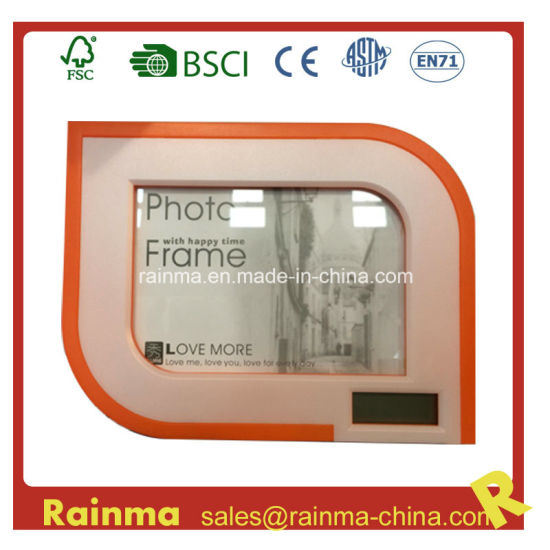 Photo Frame Clock Calculator for Promotional Gift