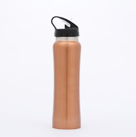 Outdoor Gym Double Wall Stainless Steel Insulated Tumbler Travel Coffee Mug with Lid, Sport Thermal Vacuum Flasks Bottle