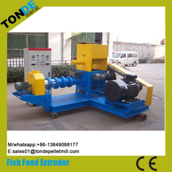 Wet Floating Fish Feed Pellet Making Extruder Machine pictures & photos