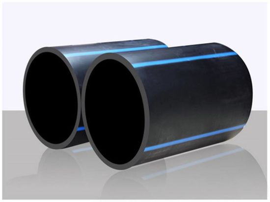 HDPE Pipe Plastic Price PE 100 Wall Thickness Meter Cost Per Foot Flange  Adapter HDPE Pipe