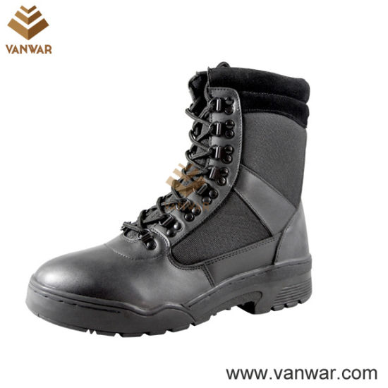 Military Hot Style Black Combat Boots (WCB004)