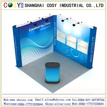 Eye-Catching Aluminum Pop up Display for Advertising and Exhibition pictures & photos