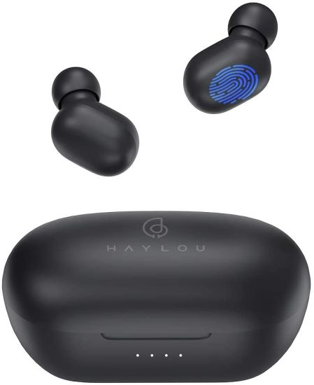 Haylou Gt1 PRO Wireless Earbuds with 800 mAh Battery Capacity, Bluetooth 5.0 Touch Control Total 26h Playtime Fast Connect Ipx5 Waterproof Bluetooth Headset