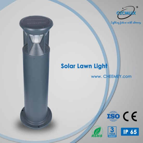 Durable Solar Bollard Lawn Light with Automatic Operation