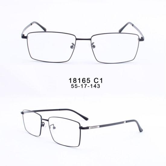 Promotional Stainless Steel Fashion Metal Optical Square Eyeglasses Frames
