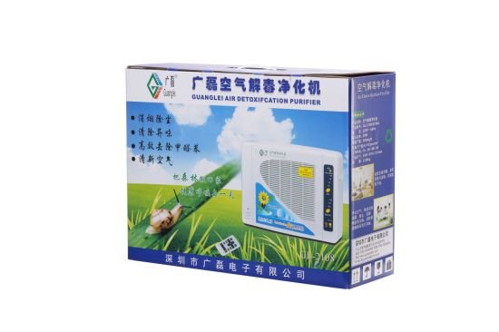 CE RoHS FCC Negative Ion Air Purifier Ionic Air Purifier with Ozonater Gl-2108 pictures & photos
