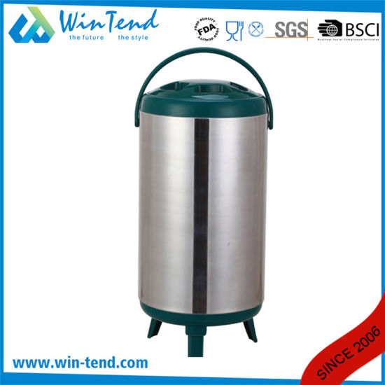 Restaurant Portable Transport Bubble Tea Barrel with Leg pictures & photos