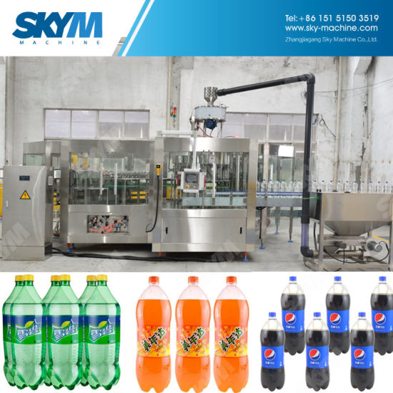 Full Automatic Pet Bottles Spring Water Bottling Machine pictures & photos