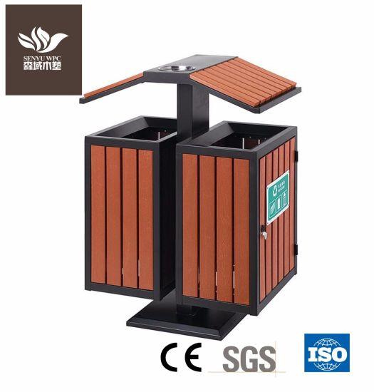 Senyu WPC New Material Dustbin