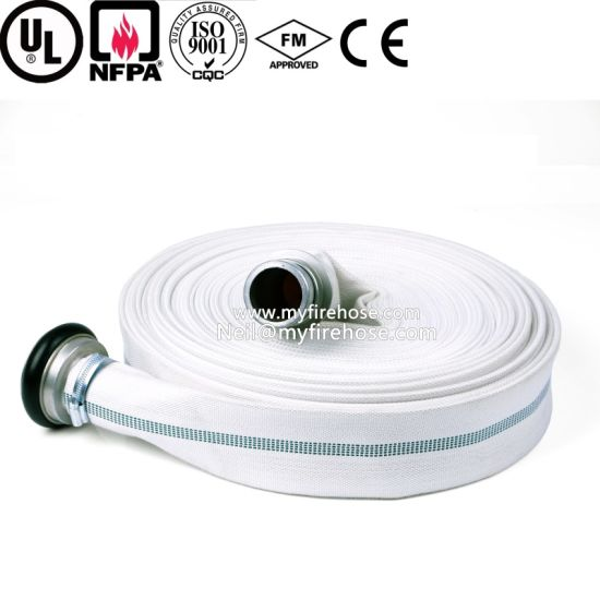 Canvas Flexible Fire Fighting Hose pictures & photos