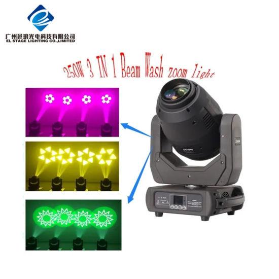 LED 250W Super Moving Head/ Stage Lighting/LED Lighting