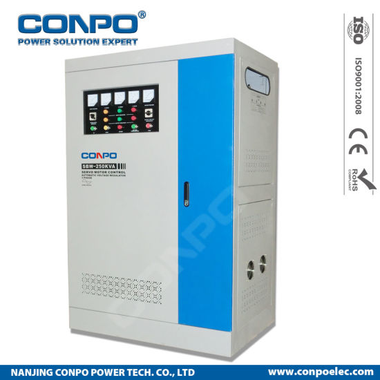 SBW-250kVA 3phase Industrial-Grade Compensated Voltage Stabilizer/Regulator pictures & photos
