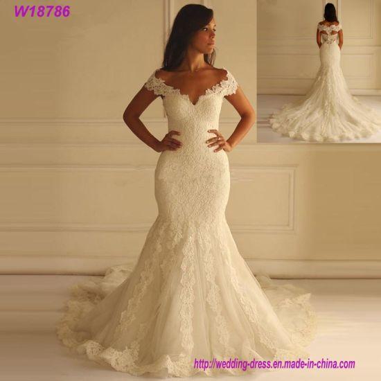 f3e73c4439e China Mermaid Women Wedding Dress White or Ivory Color - China ...