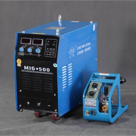 light industrial IGBT inverter MAG/CO2/STICK welder with wire feeder  MIG-270C/350C/500C