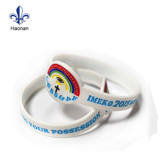 Promotion Gift Silicone Wristband with Custom Logo