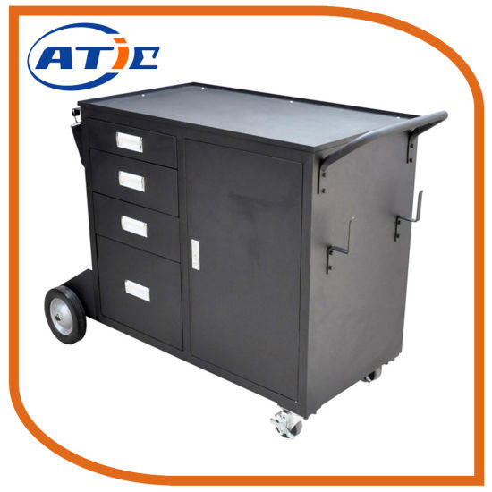 China Custom Tools Cabinet Drawer Cart Trolley Warehouse Mobile