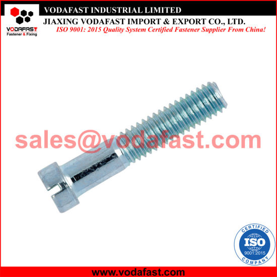 DIN 920 Slotted Small Pan Head Machine Screw Zinc Plated pictures & photos