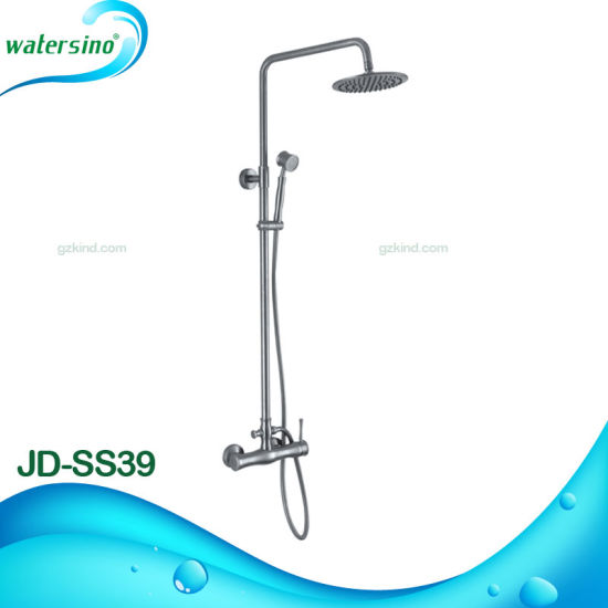 New Style Chrome Brass 2 in 1 Shower Set with Best Quality pictures & photos