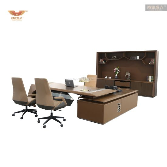 New Style Modular Wooden L Shape Executive Office Desk