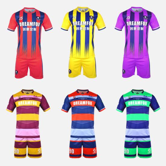 [Hot Item] Custom Sport Football Jerseys fashion High Quality Soccer Shitrs