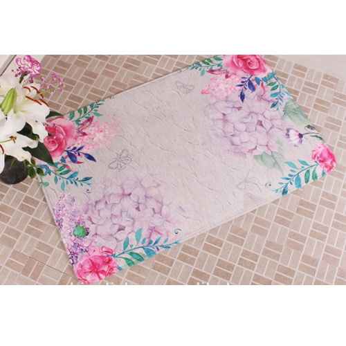 Non-Skid Memory Foam Sublimation Floor Rug pictures & photos