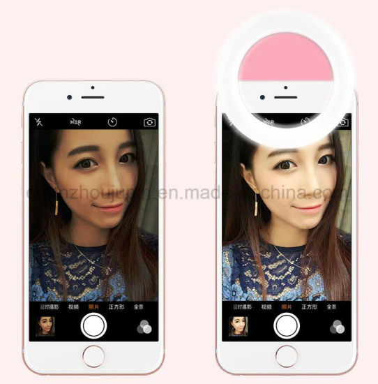 OEM Mobile Phone LED Selfie Fill Flash Light pictures & photos