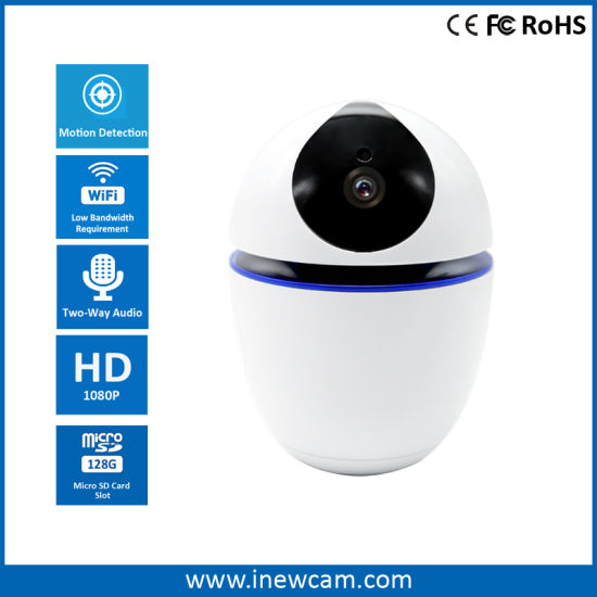 New Home Automation 1080P Auto Tracking 2-Way Audio WiFi IP Camera
