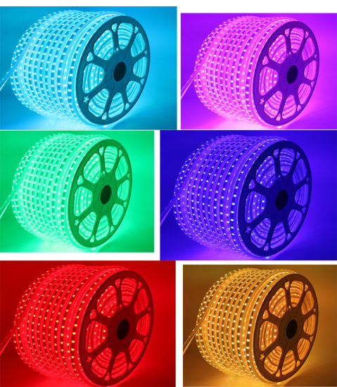 Customized Available 7W/M 110V SMD5050 LED Strip Light pictures & photos
