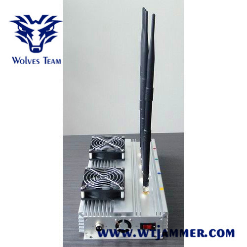 China High Power 45W Indoor Cdm GSM 3G 4G Cell Phone Jammer