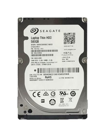 Seagate Laptop Thin HDD 500GB SATA III Internal HDD ST500LM021
