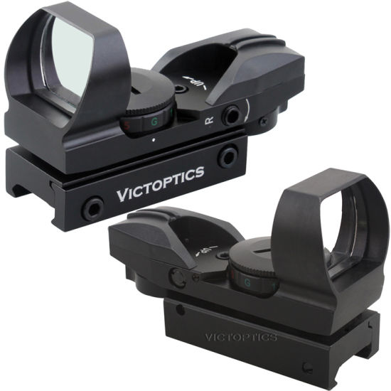 VictOptics 1x23x34 Red Dot Reflex Sight Hunting Scopes Four Kinds of Reticle